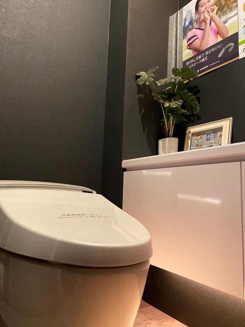 青森県 青森市緑 ミドリデンタルクリニック トイレ